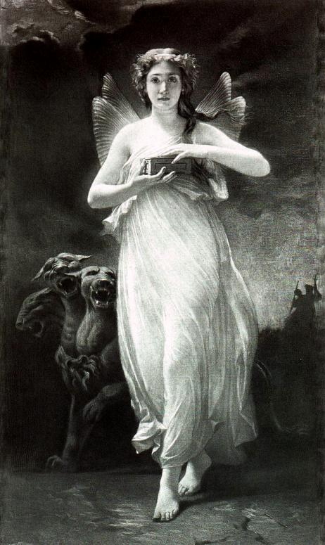 Psyche with Persephone's beauty